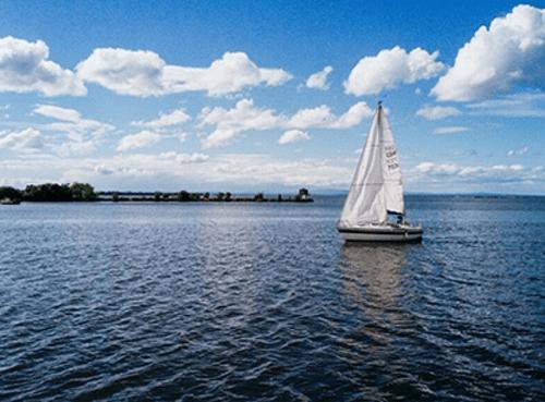 Barca a vela per il noleggio